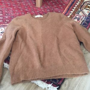 Alexa Chung for Madewell Rabbit Hair Sweater